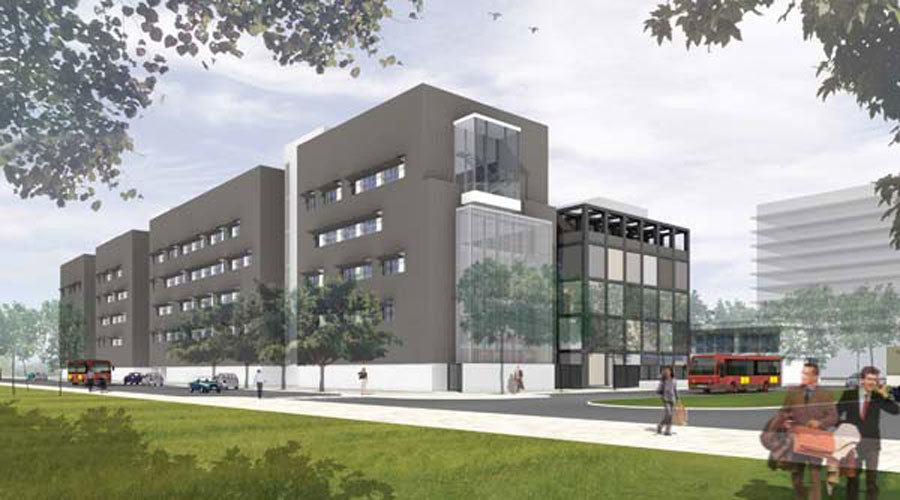 Instalación Ucresh Edifício Fachada