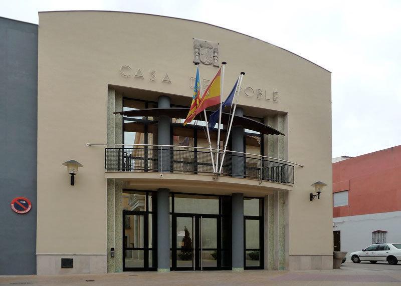 fachada despacho instalación ayuntamiento massalfasar ofival