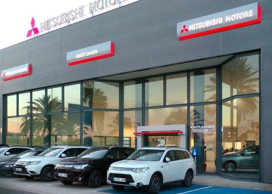 Fachada Mitsubishi Motors