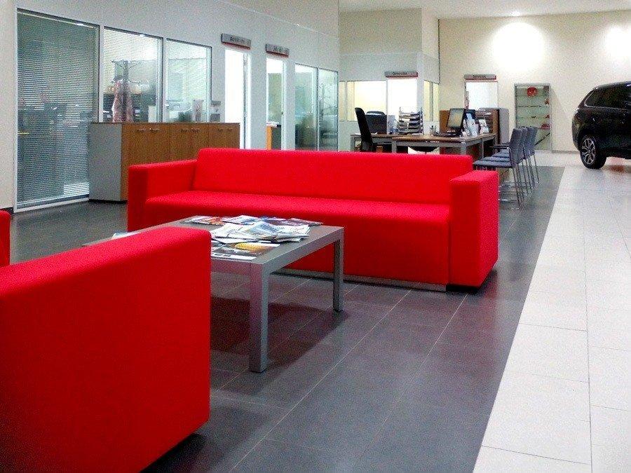 Sillón sala de espera mitsubishi