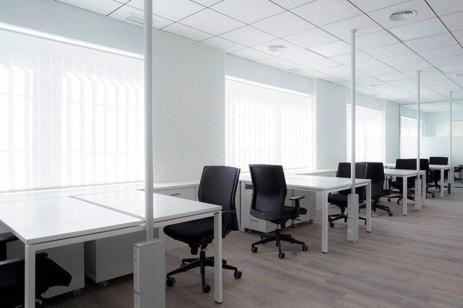 Instalaciones oficinas Imbesten sistema Bench