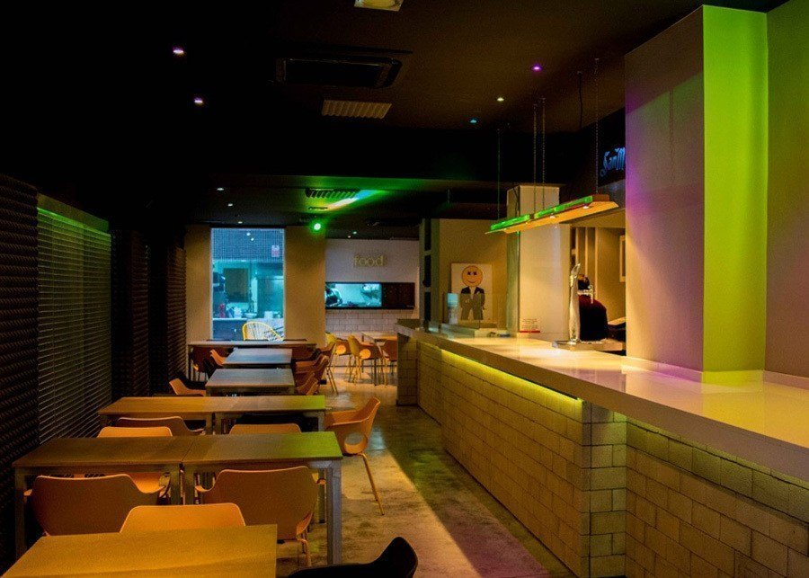Sala restaurante Food Club Valencia