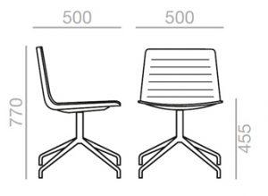 Medidas sillón Flex tapizado
