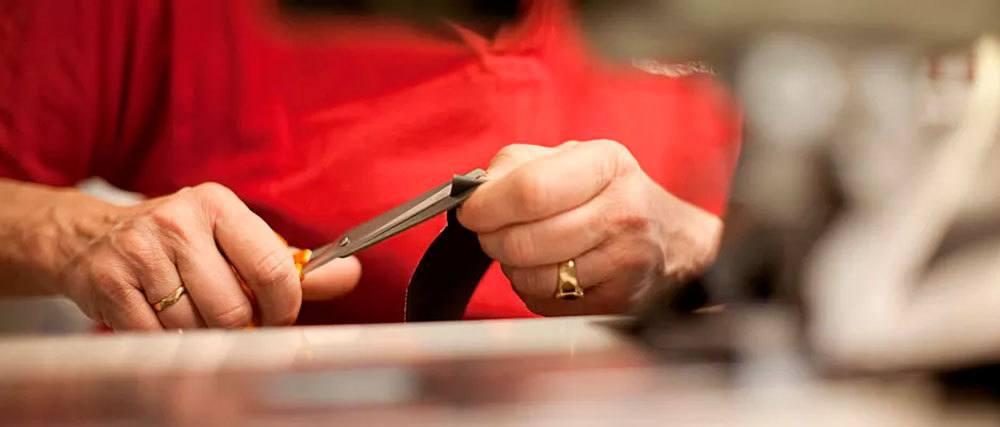 Artesanía y materia prima