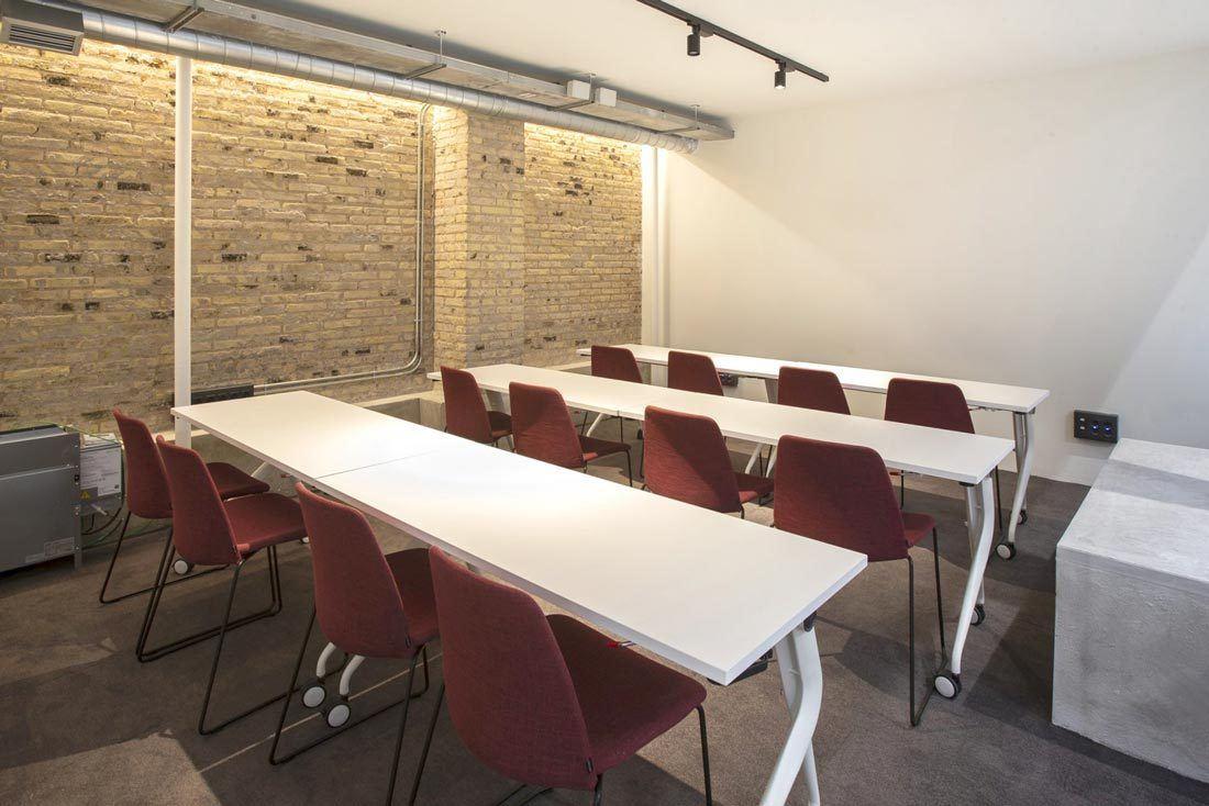 Sala de formación Wayco coworking Ruzafa