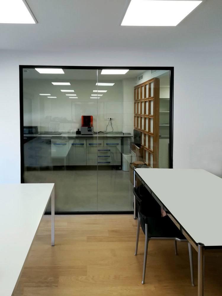Zona laboratorio estudio de diseño