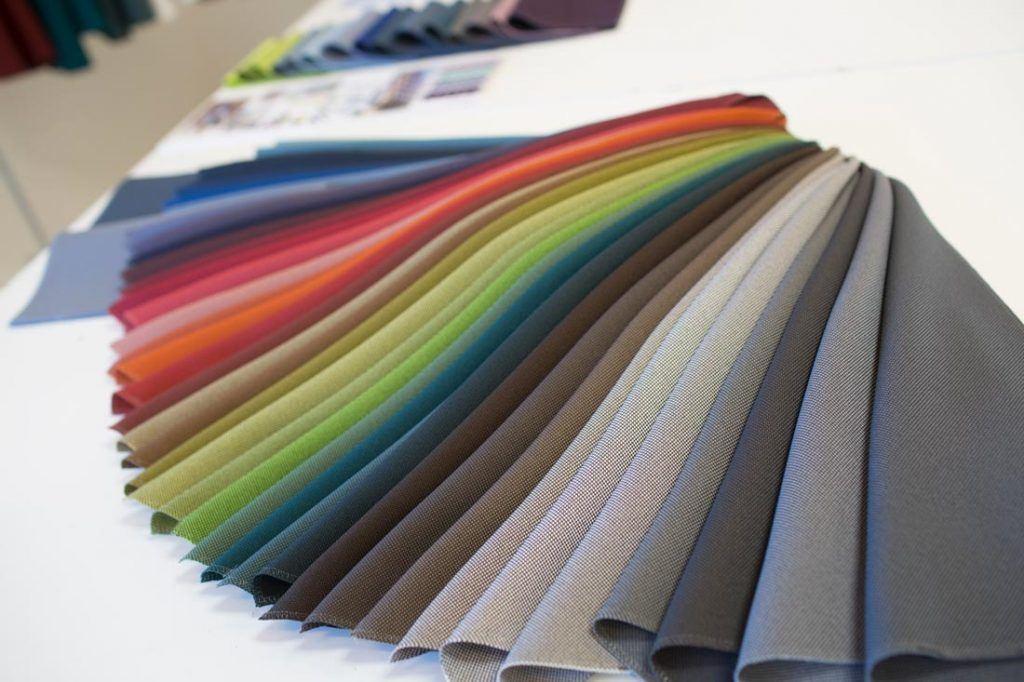gama color tejidos