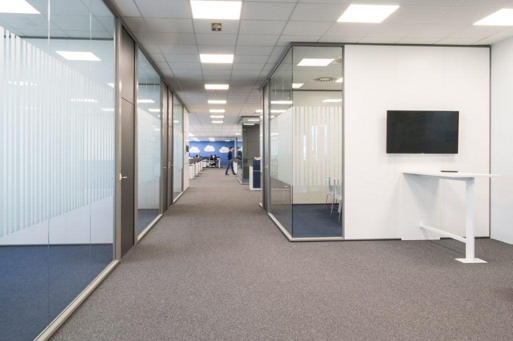 gregal pasillo distribuidor espacio trabajo