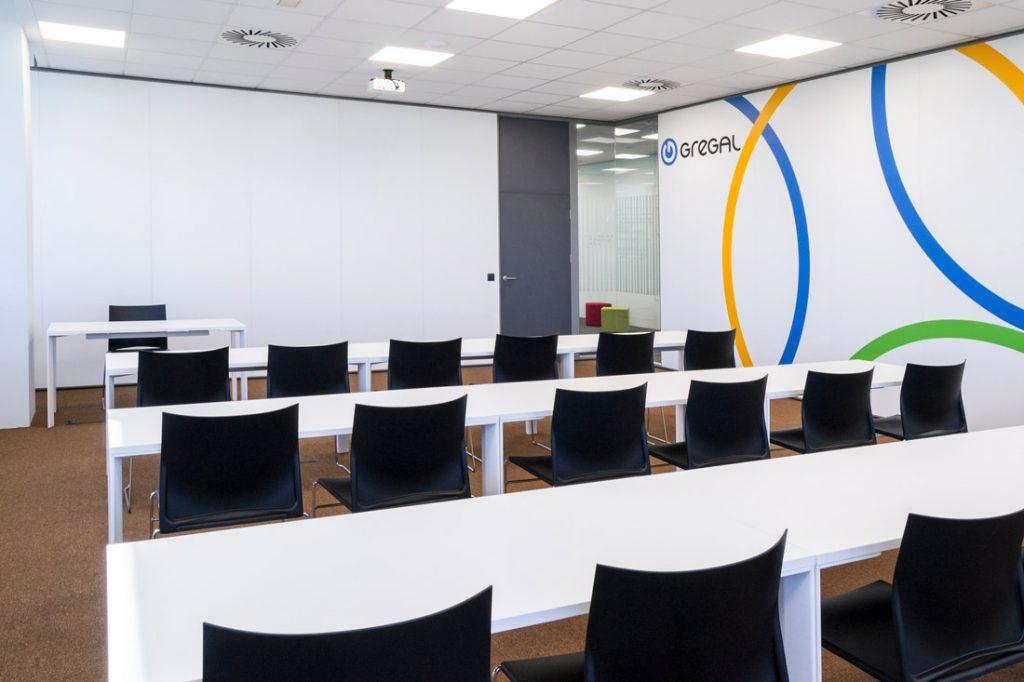 Sala de formación Gregal Soluciones Informáticas