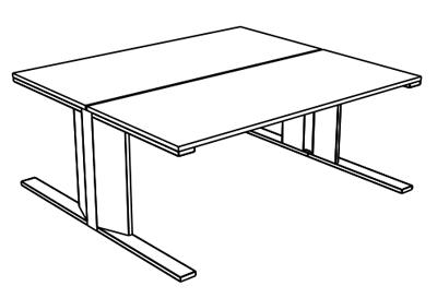 Medidas Mesa Doble CE