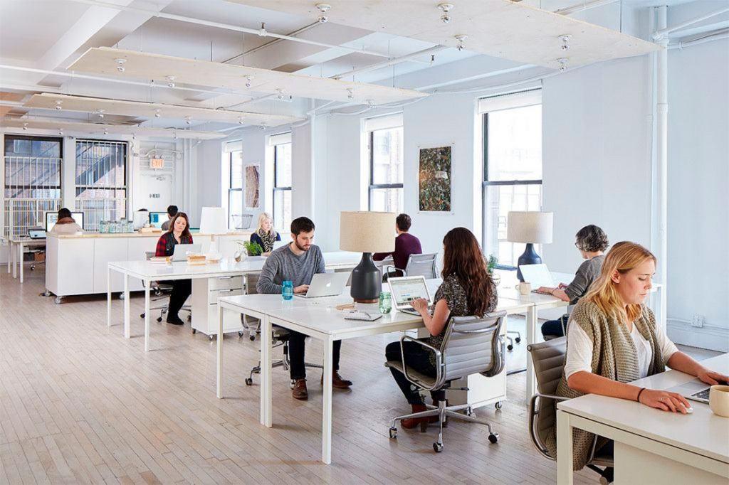 tipos de mesas de oficina