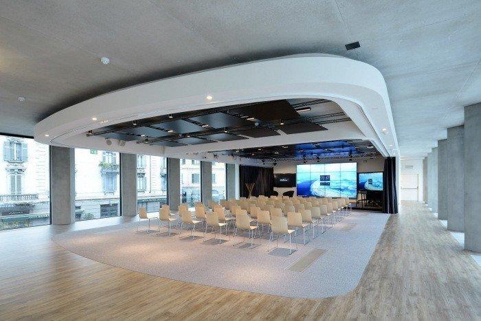 sala audiovisual microsoft house