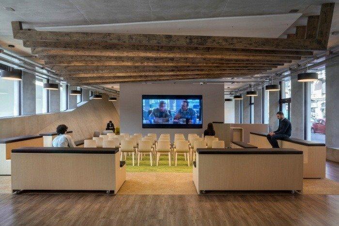 sala conferencias microsoft house