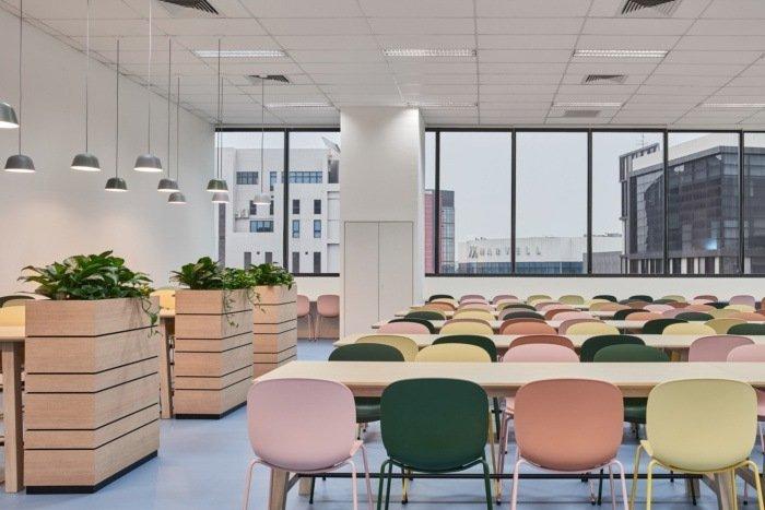zona comedor oficinas sivantos