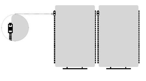 Cremalleras Paneles acústicos separadores Madison