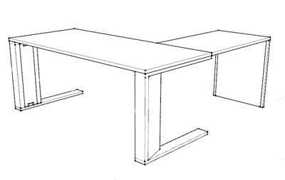 Estructura mesa CE semi-dirección