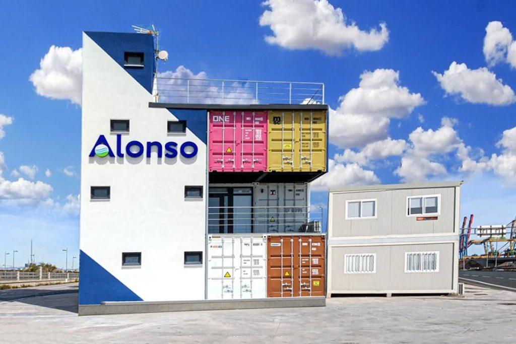 Edificio de oficina Eurotransac Grupo Alonso