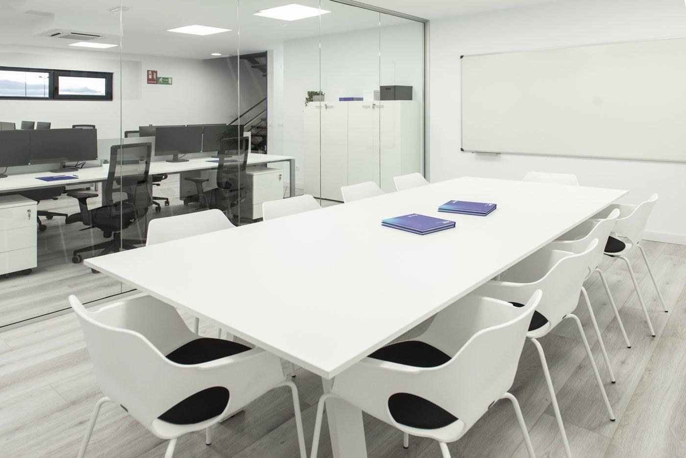 Sala de reuniones Eurotransac Grupo Alonso