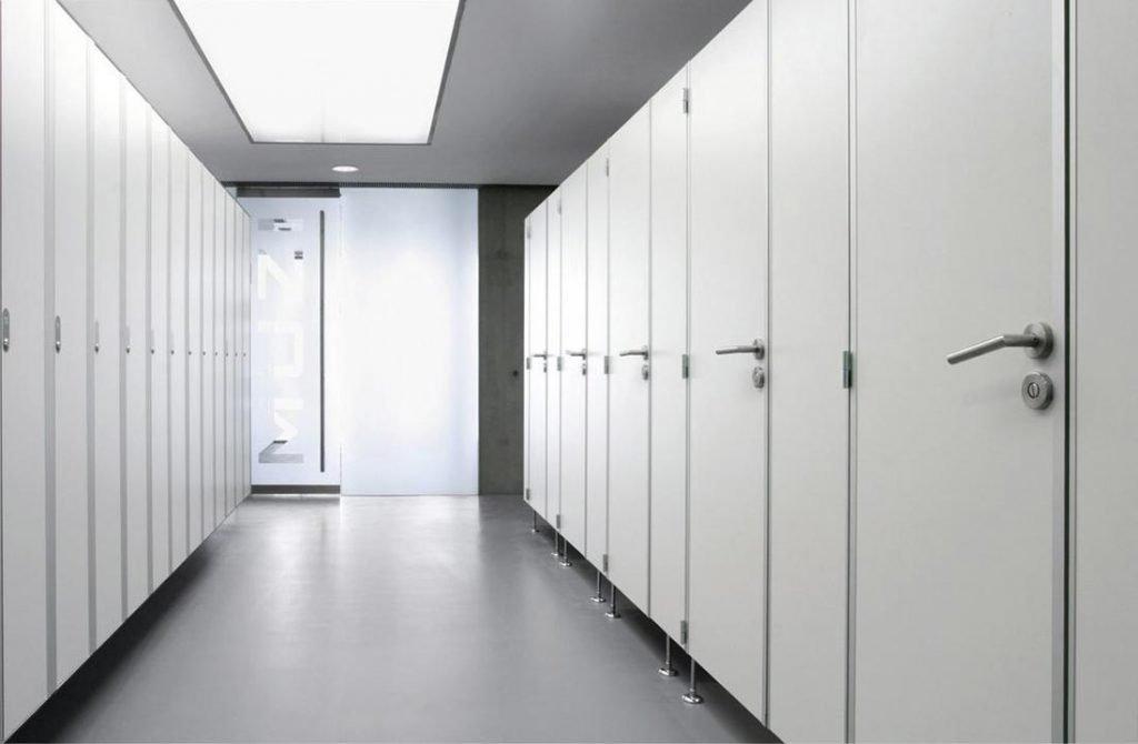 instalar cabinas sanitarias fenolico