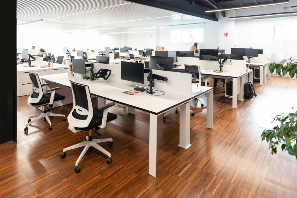 Zona de trabajo instalaciones Daifressh Valencia