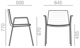 Medidas Sillón Flex Chair