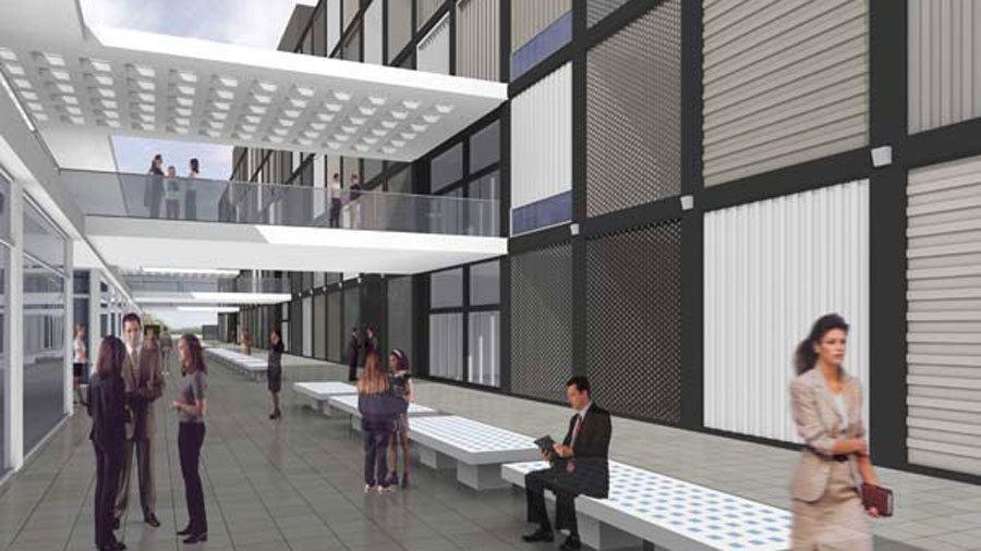 Instalación Ucresh Edifício zonas comunes