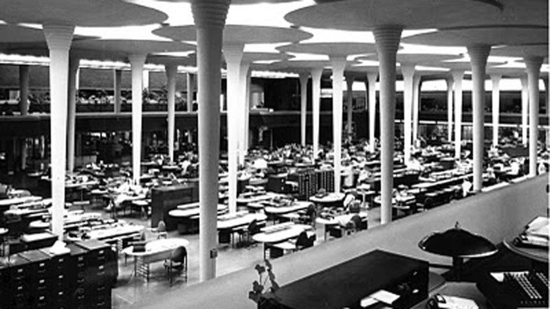 edificio oficinas frank Lloyd Ofival