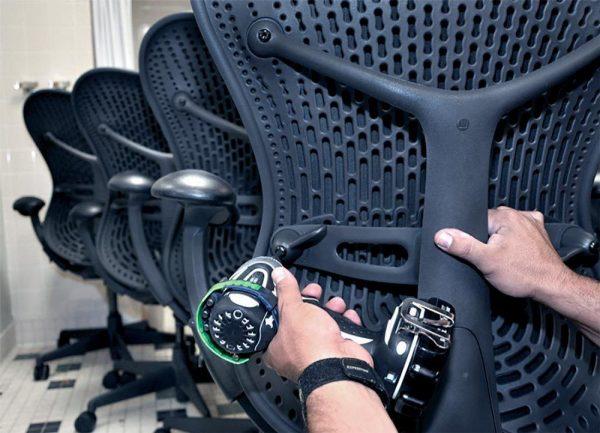 Mantenimiento de las sillas de oficina