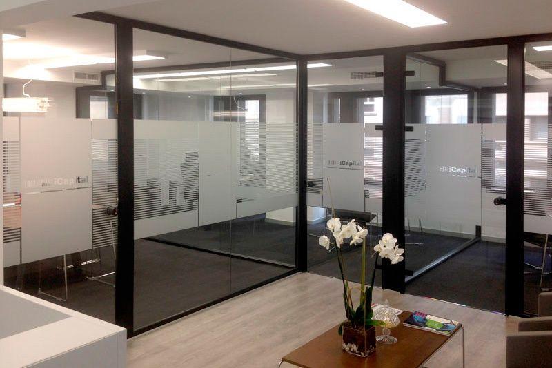 mampara oficina valencia