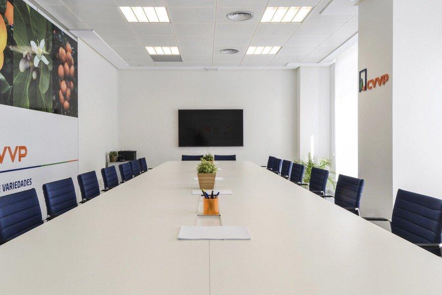 Sala de reuniones Variedades Vegetales Protegidas