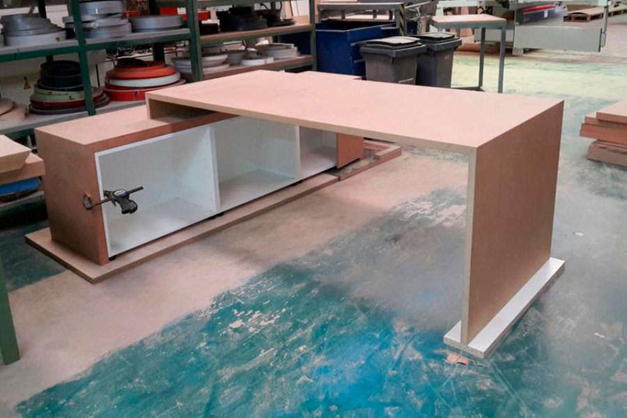 Mesas oficina a medida ofival 02 ofival mobiliario de oficina - Medidas mesa oficina ...