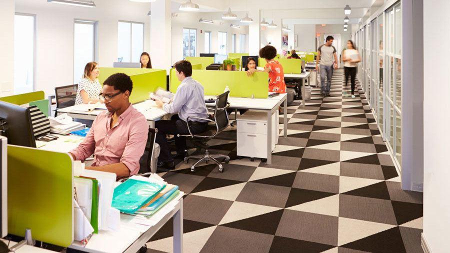 El espacio de trabajo para la oficina