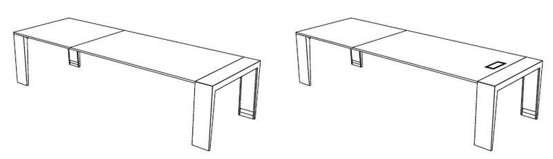 Esquema mesa mahia dirección BL
