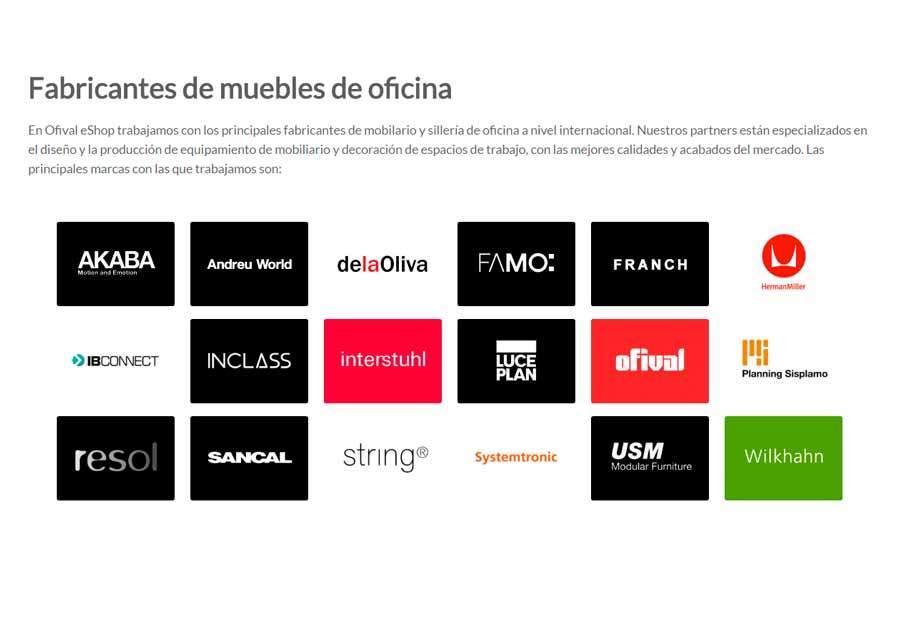 Fabricantes De Muebles De Oficina En España : Fabricantes muebles de oficina ofival equipamiento