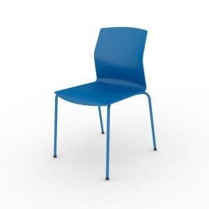 Silla Kabi polipropileno azul