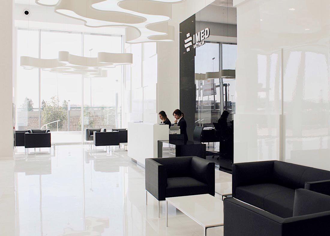 Hall IMED Hospitales Valencia