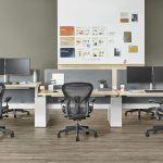 Nueva silla Aeron bancada de trabajo