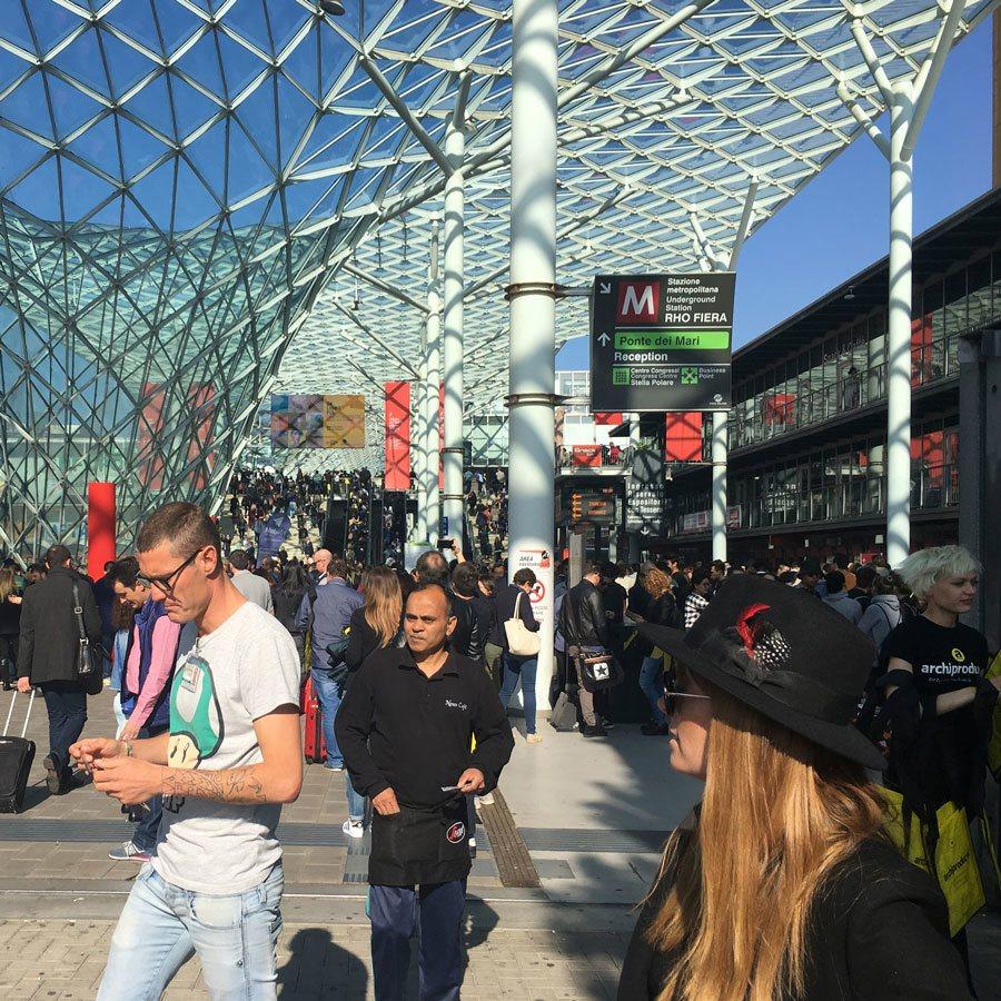 Actividades Salone del Mobile Milán 2017