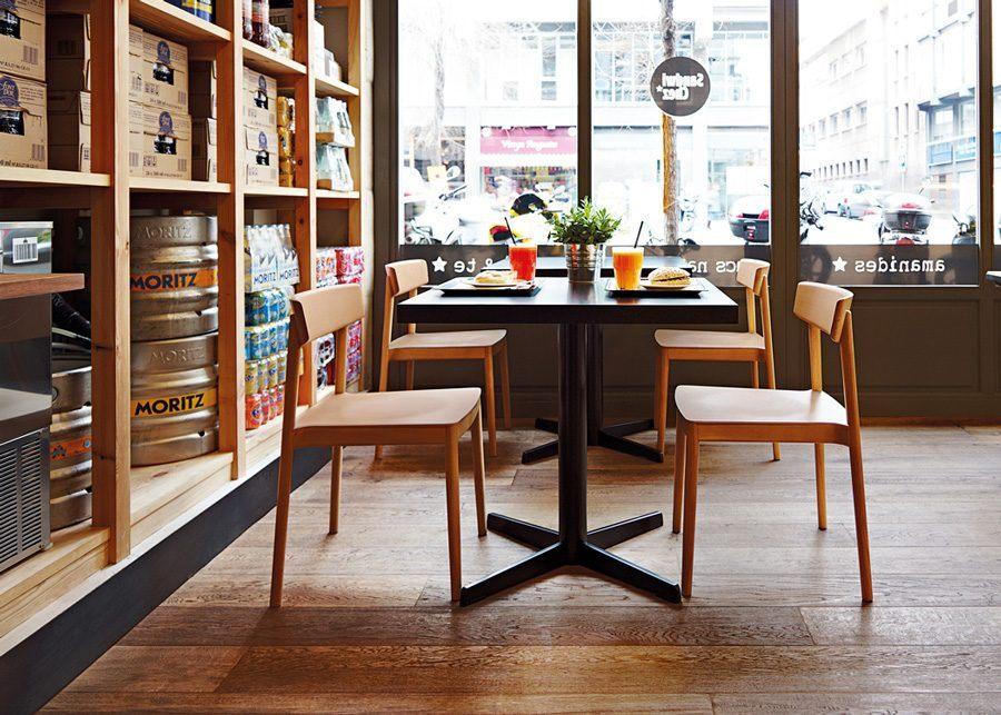 Silla Smart Madera Cafeterías