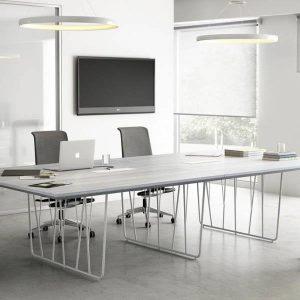 Mesa Reunión Deck Laminado Doble