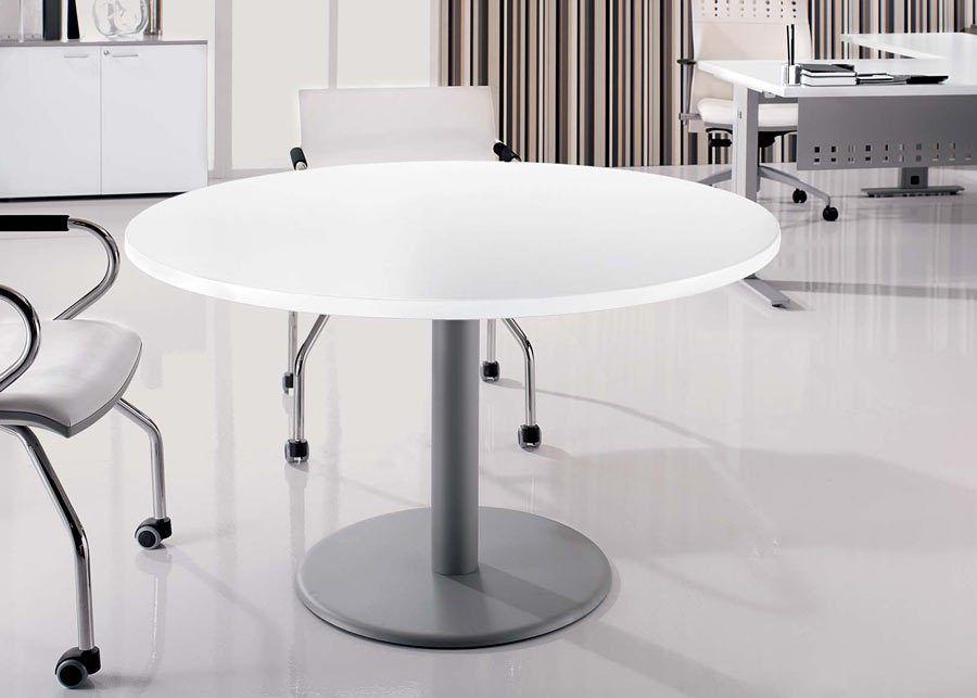 Mesa Reunión Redonda Oficina