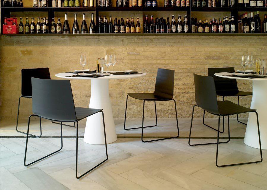 Mesa reverse caf hosteler a ofival eshop mobiliario de - Mobiliario de cafeteria ...