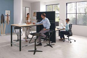 Mesas altas para salas de reuniones
