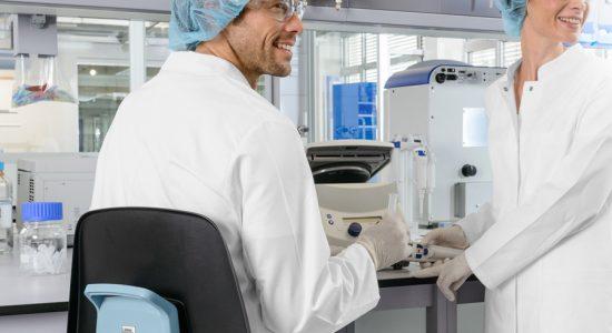 Ergonomía en la silla de laboratorio