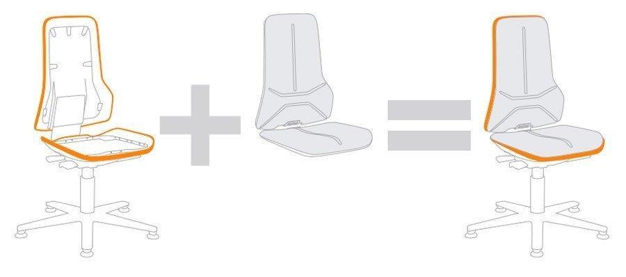 Estructura Silla Neon