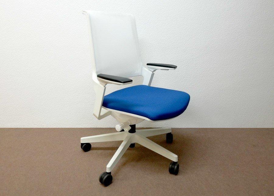 Silla movyis3 operativa azul outlet ofival equipamiento de oficina - Sillas oficina outlet ...