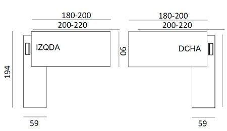 Medidas Mesa T45 Dirección