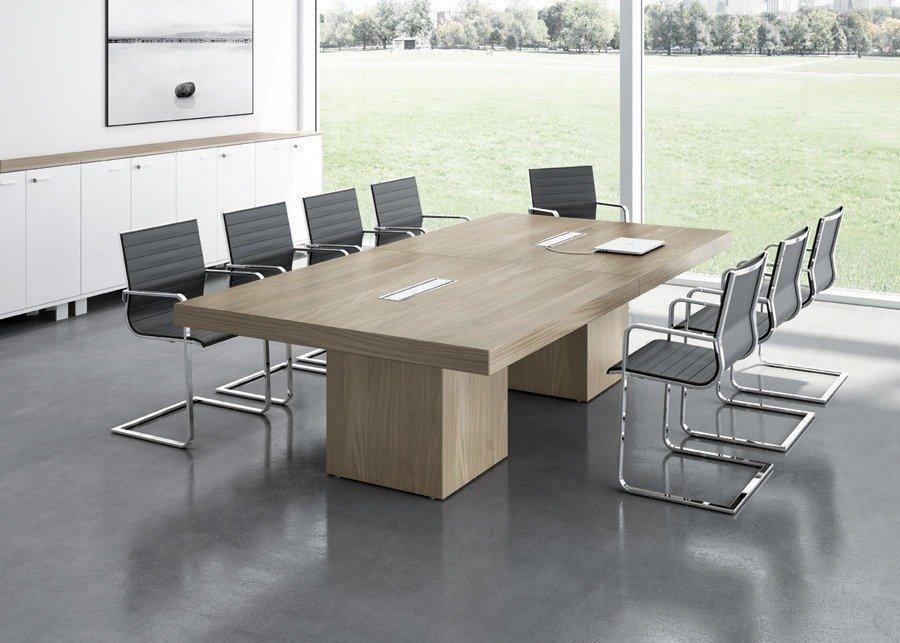 Mesa t45 reuniones ofival equipamiento de oficina for Mesa de reuniones