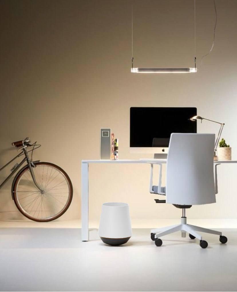 Papelera Biel blanca de oficina