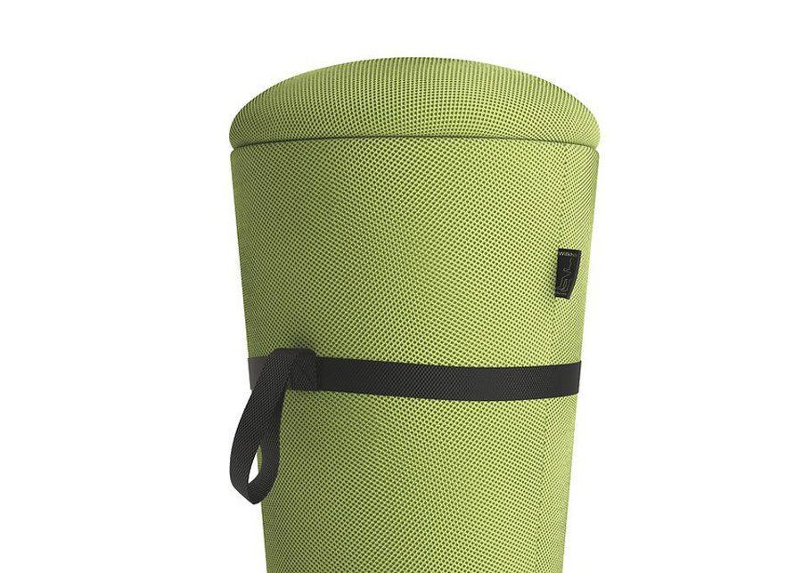 Taburete Stand-Up Verde Asiento